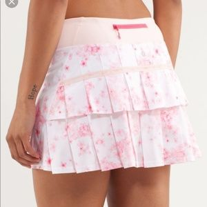 Lululemon Pace Setter Skirt Unicorn Flowers